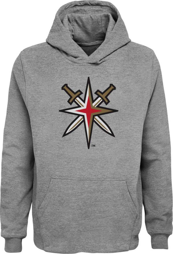 NHL Youth Vegas Golden Knights Grey Shoulder Patch Hoodie product image