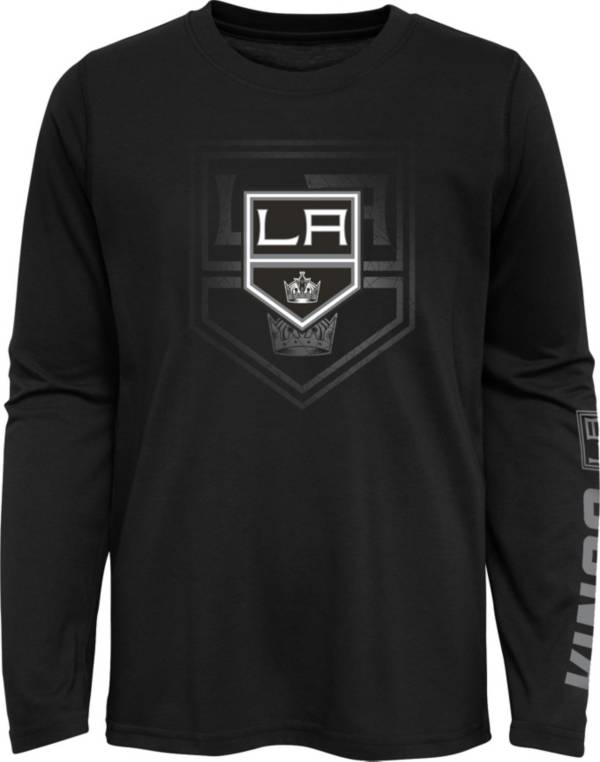 NHL Youth Los Angeles Kings Stop Clock Black Long Sleeve T-Shirt product image