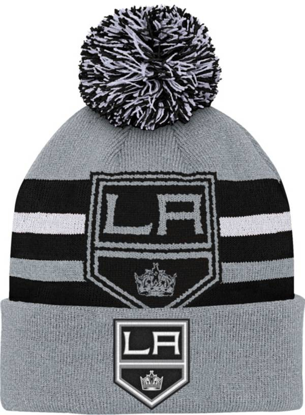 NHL Youth Los Angeles Kings Heritage Grey Cuffed Knit product image