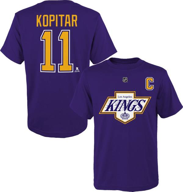 NHL Youth Los Angeles Kings Anze Kopitar #11 Special Edition Purple T-Shirt product image