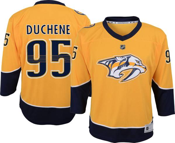 NHL Youth Nashville Predators Matt Duchene #95 Gold Replica Jersey product image