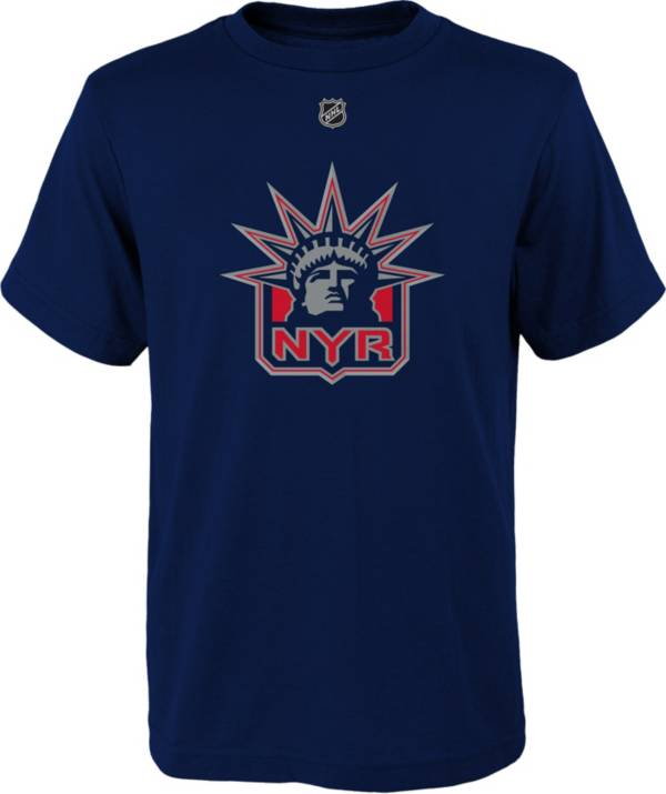NHL Youth New York Rangers Special Edition Logo Navy T-Shirt product image