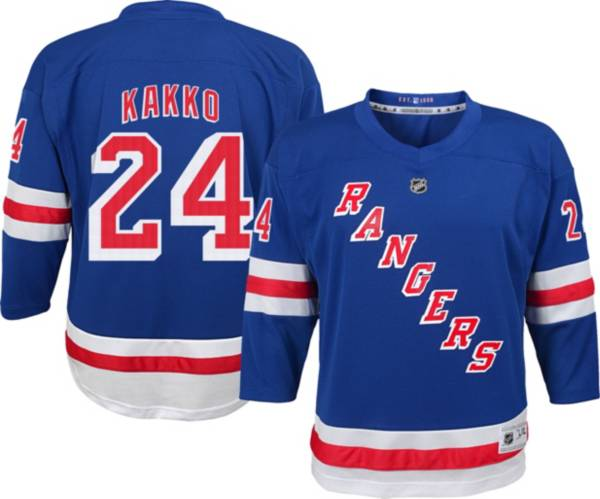NHL Youth New York Rangers Kaapo Kakko #24 Blue Replica Jersey product image
