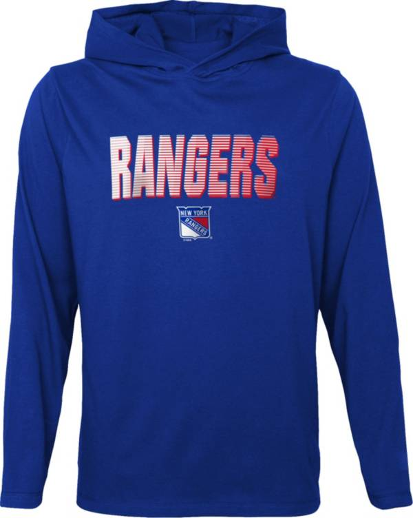 NHL Youth New York Rangers Gator Blue Pullover Hoodie product image