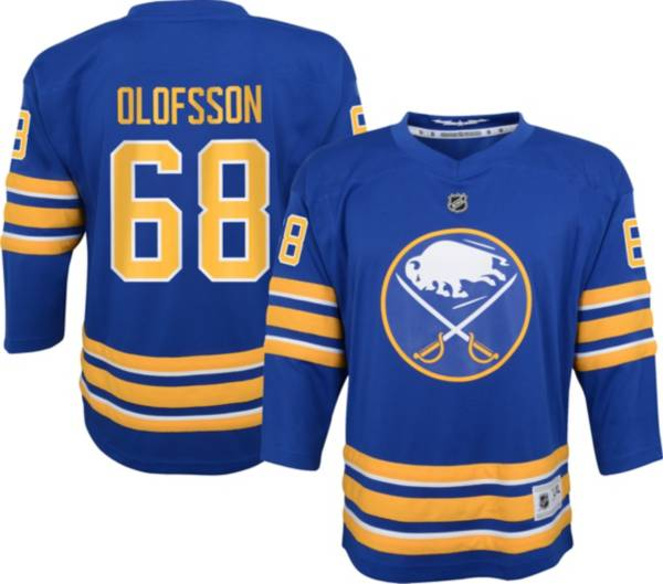 NHL Youth Buffalo Sabres Victor Olofsson #68 Blue Replica Jersey product image