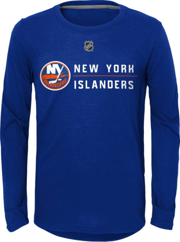 NHL Youth New York Islanders Delivered Hit Blue Long Sleeve Shirt product image
