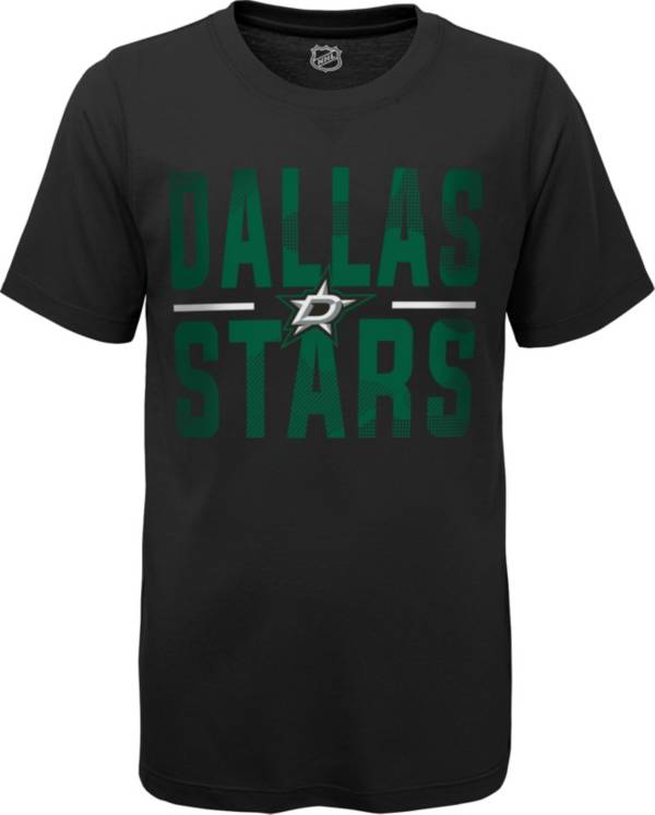 NHL Youth Dallas Stars Hussle Black T-Shirt product image