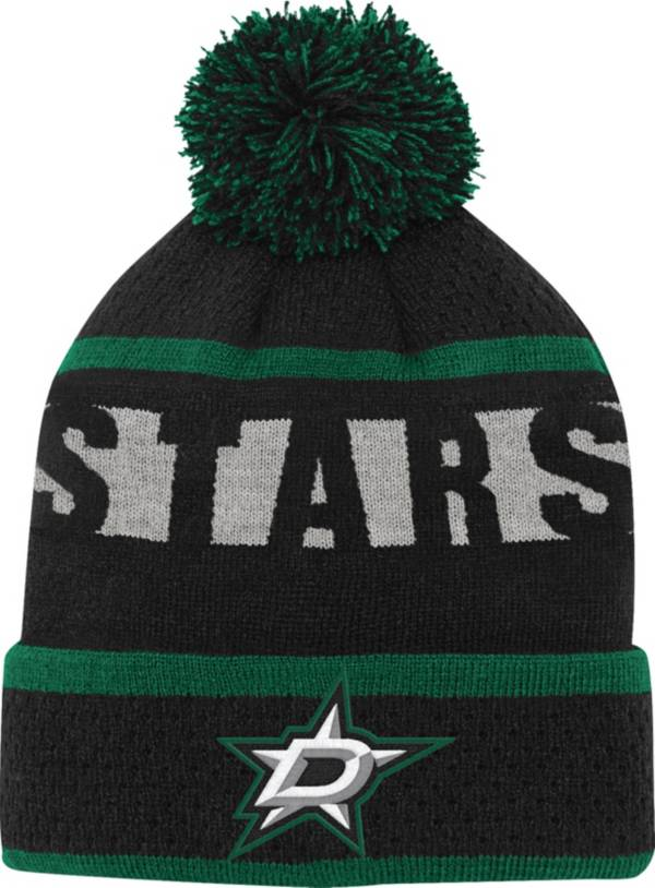 NHL Youth Dallas Stars Heritage Green Cuffed Knit Hat product image