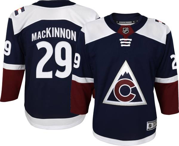 NHL Youth Colorado Avalanche Nathan MacKinnon #29 Navy Premier Jersey product image