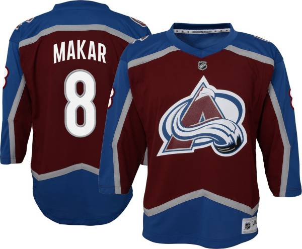 NHL Youth Colorado Avalanche Cale Makar #8 Red Replica Jersey product image