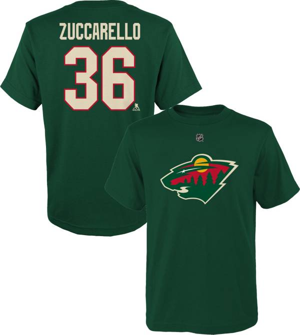NHL Youth Minnesota Wild Mats Zuccarello #36 Green T-Shirt product image