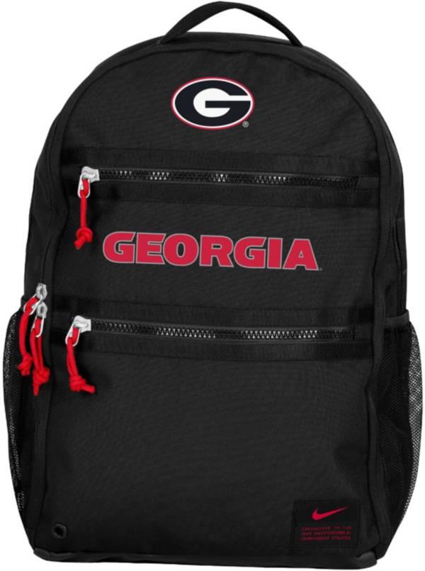 Nike Georgia Bulldogs Utility Heat Black Backpack product image
