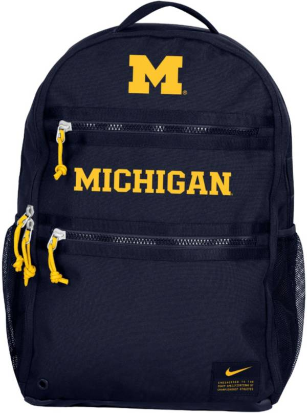 Nike Michigan Wolverines Blue Utility Heat Backpack product image