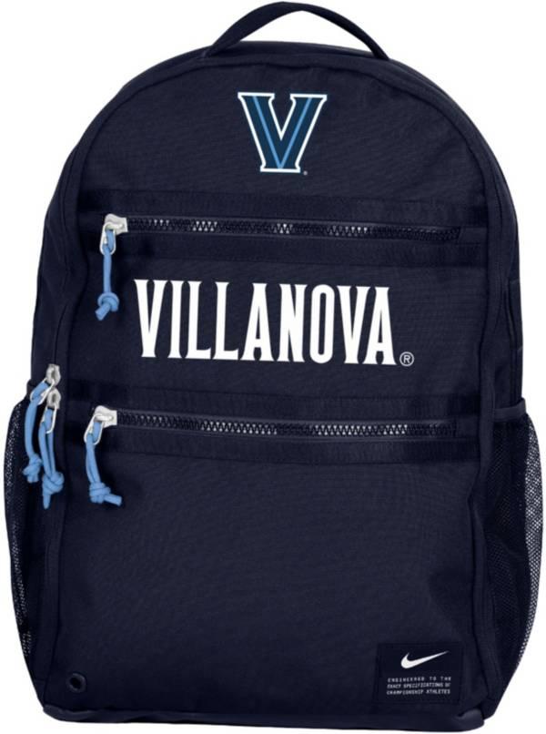 Nike Villanova Wildcats Navy Utility Heat Backpack product image