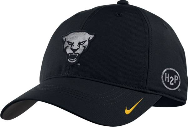 Nike Men's Pitt Panthers Swoosh Flex Adjustable Black Hat product image