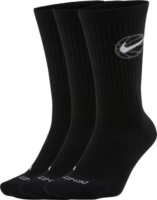 Nike Everyday Crew Basketball Socks - 3 Pack product image