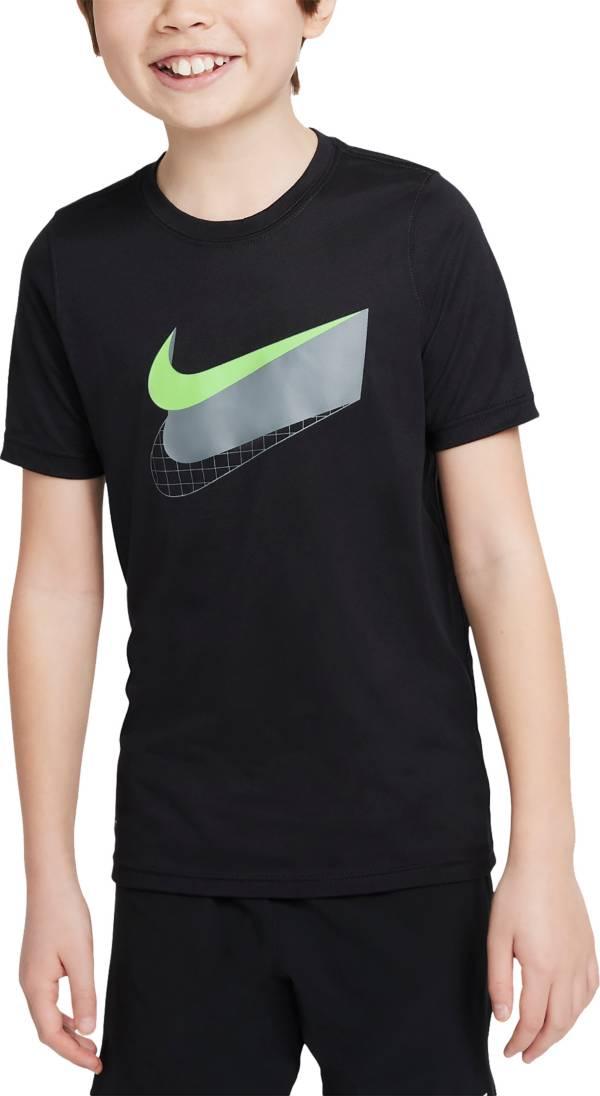 Nike Boys' Swoosh Glow Dri-FIT Training T-Shirt product image