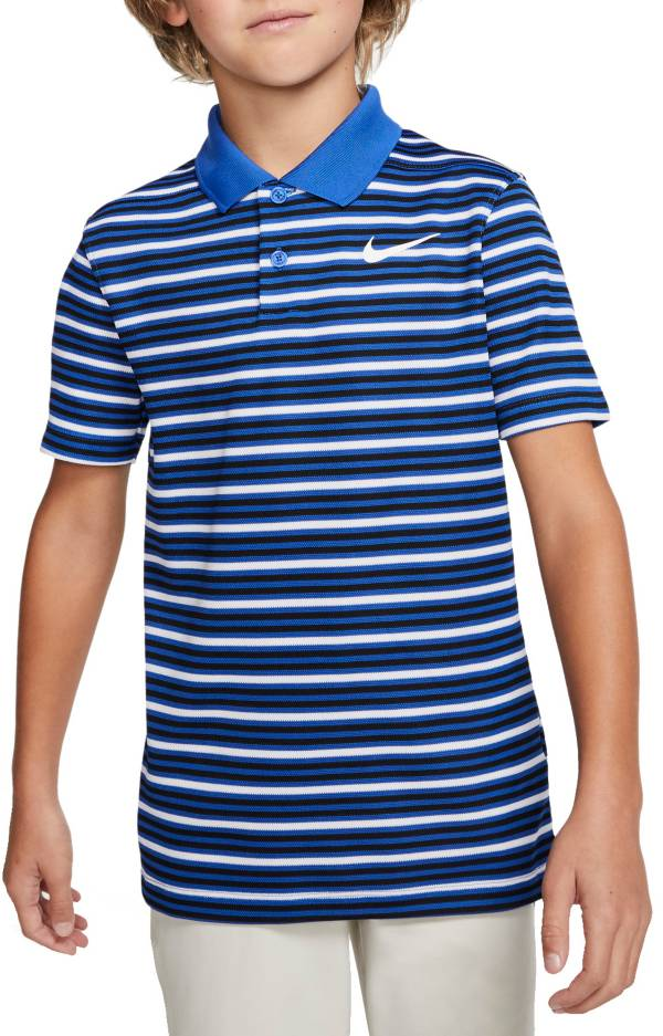 Nike Boys' Dri-FIT Victory Striped Golf Polo product image