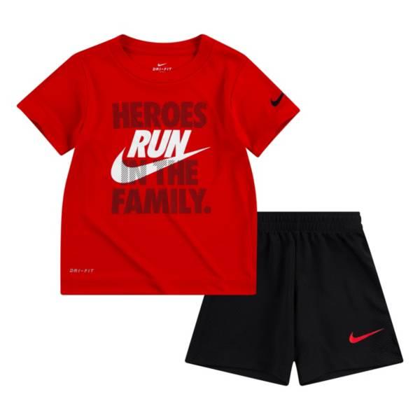 Nike Boys' Dri-FIT Hero Short Sleeve Tee and Short Set product image