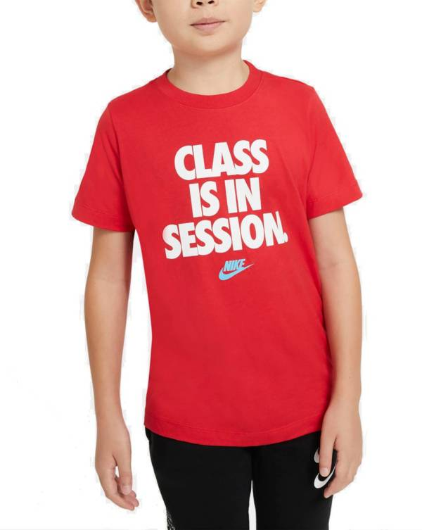 Nike Boys' Sportswear Class Is In Session Graphic T-Shirt product image