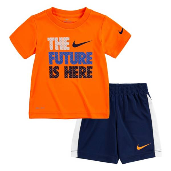 Nike Boys' Dri-FIT The Future Is Here Short Sleeve Tee and Short Set product image