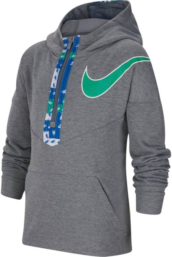Nike Boys' Dri-FIT ½ Zip Graphic Training Hoodie product image