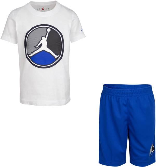 Jordan Boys' AJ8 Front Circle T-Shirt and Mesh Shorts 2-Piece Set product image