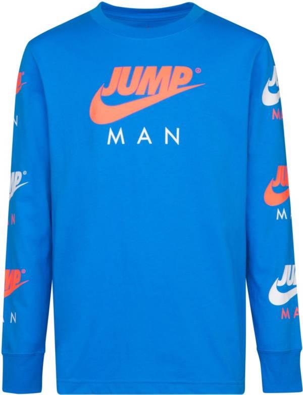 Jordan Boys' Jumpman Long Sleeve Shirt product image