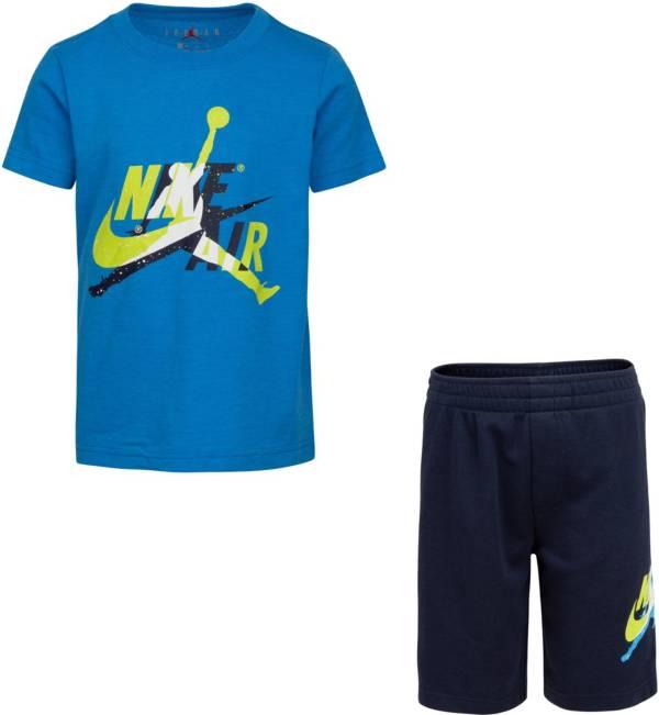 Jordan Boys' Jumpman Classics T-Shirt and Mesh Shorts 2-Piece Set product image