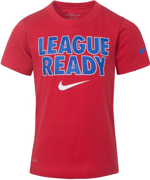 Nike Boys' Dri-FIT League Ready Graphic T-Shirt product image