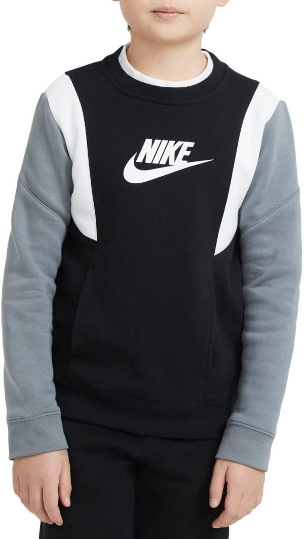 Nike Boys' Sportswear Amplify Fleece Crew Sweatshirt product image