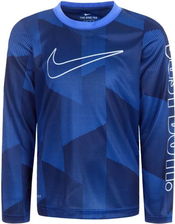 Nike Boys' Dri-FIT Just Do It Long Sleeve T-Shirt product image