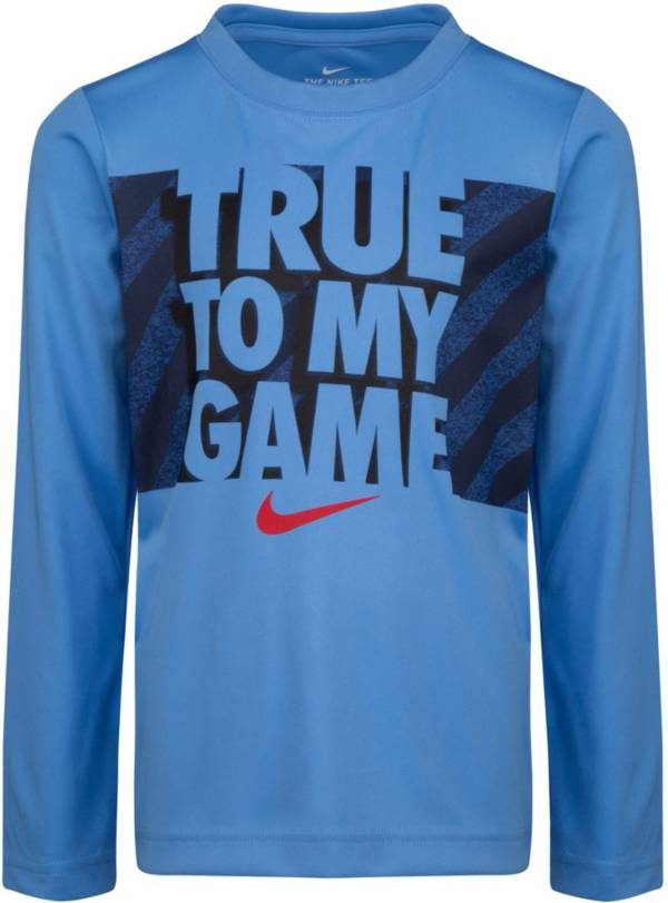 Nike Little Boys' True to My Game Long Sleeve Shirt product image
