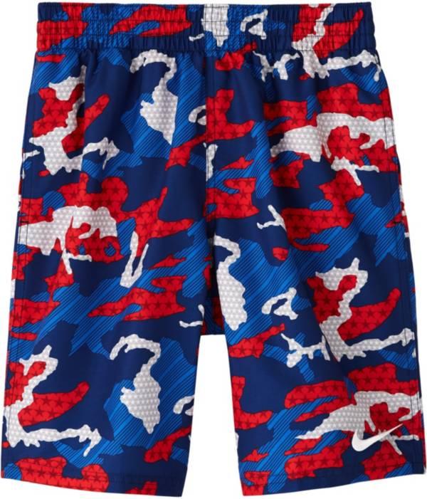 Nike Boys' Americana Camo Volley Swim Trunks product image