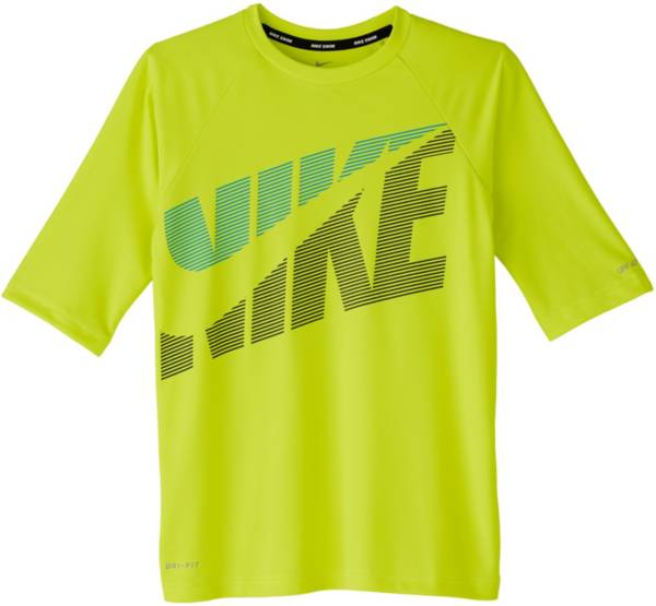 Nike Boys' Tilt Half Sleeve Rash Guard product image