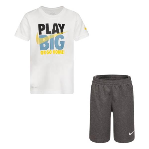 Nike Boys' Play Big Short Sleeve Tee and Short Set product image