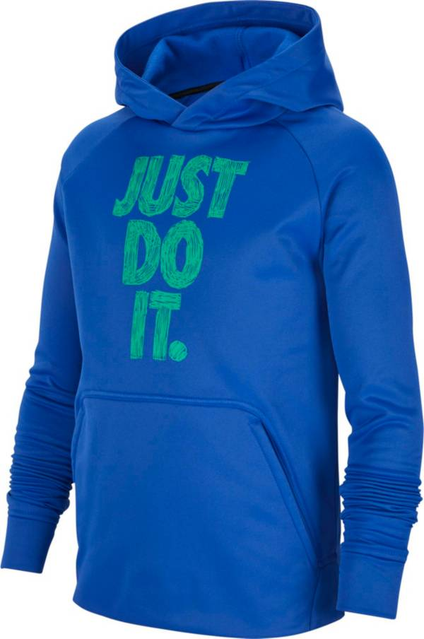 Nike Boys' Therma Just Do It Graphic Hoodie product image