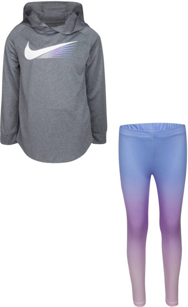 Nike Little Girls' 360 Pullover Hoodie and Leggings Set product image