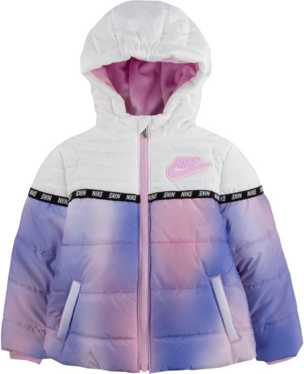 Nike Girls' Colorblock Puffer Jacket product image