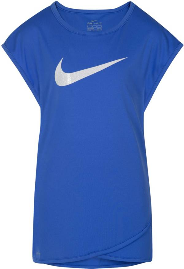 Nike Little Girls' Dri-FIT Graphic T-Shirt product image