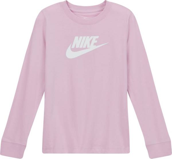 Nike Girls' Sportswear Futura Long Sleeve T-Shirt product image