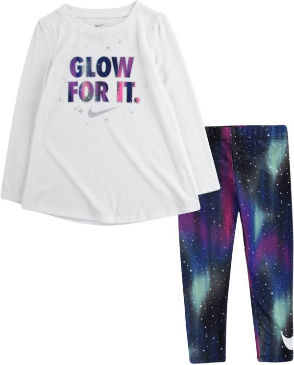 Nike Toddler Girls' Galaxy Tunic and Leggings Set product image