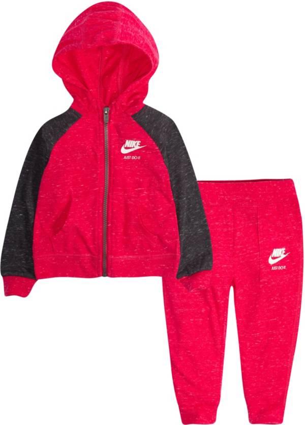 Nike Infant Girls' Gym Vintage Full Zip Hoodie and Pants Set product image