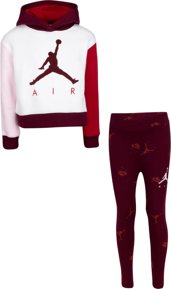 Jordan Girls' Hoodie and Leggings 2-Piece Set product image