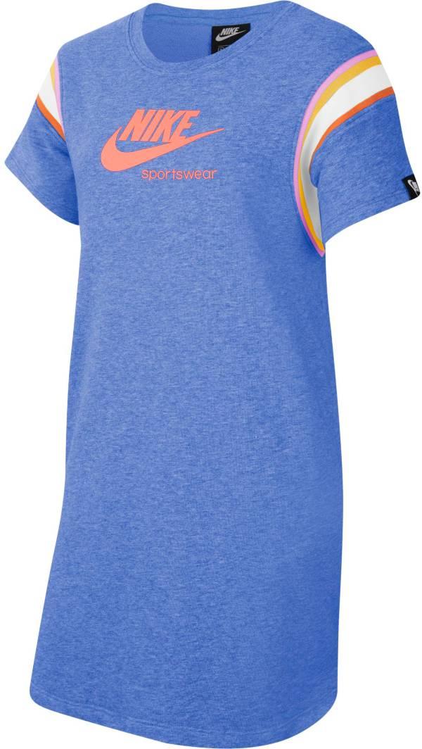 Nike Girls' Sportswear Heritage Short Sleeve Dress product image