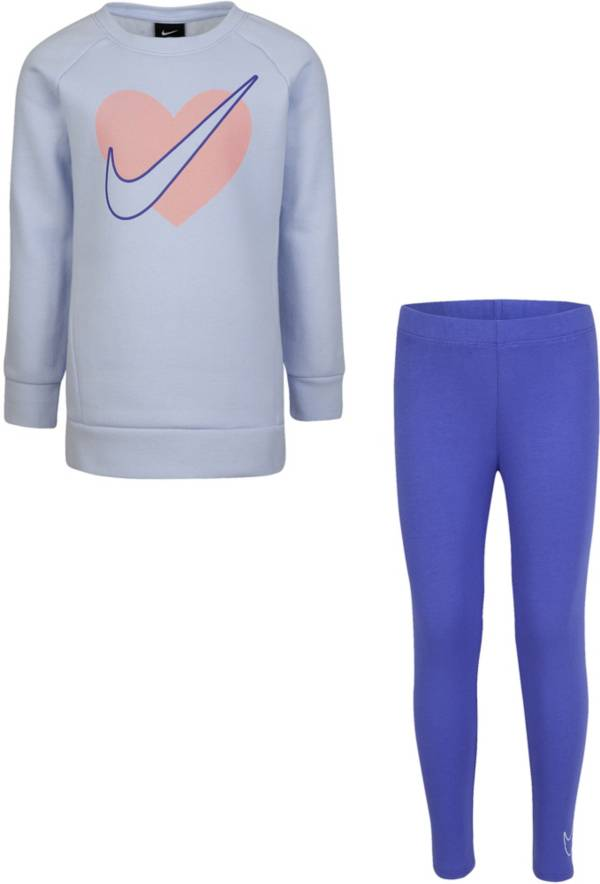 Nike Little Girls' Heart Tunic and Leggings Set product image