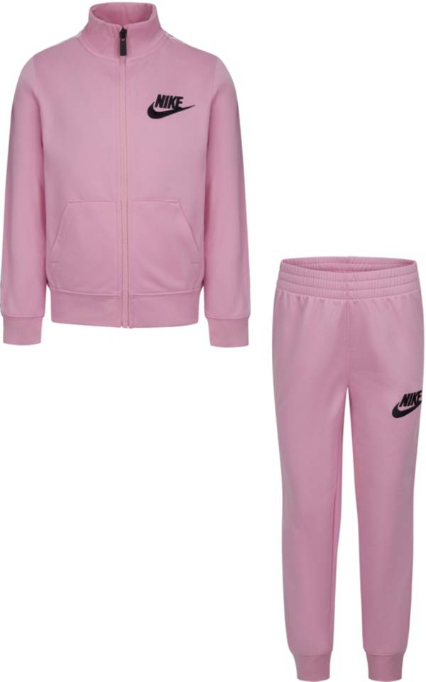 Nike Little Girls' Heart Taping Tricot Full-Zip Jacket and Jogger Pants Set product image