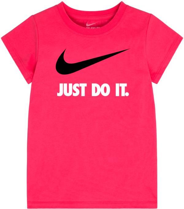 Nike Girls' Just Do It Swoosh Logo T-Shirt product image