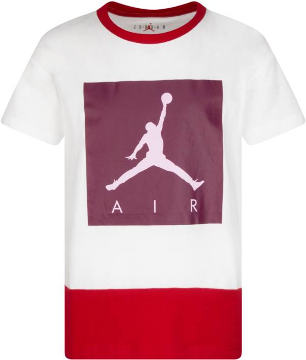 Jordan Girls' Jumpman Luxe Court Short Sleeve T-Shirt product image