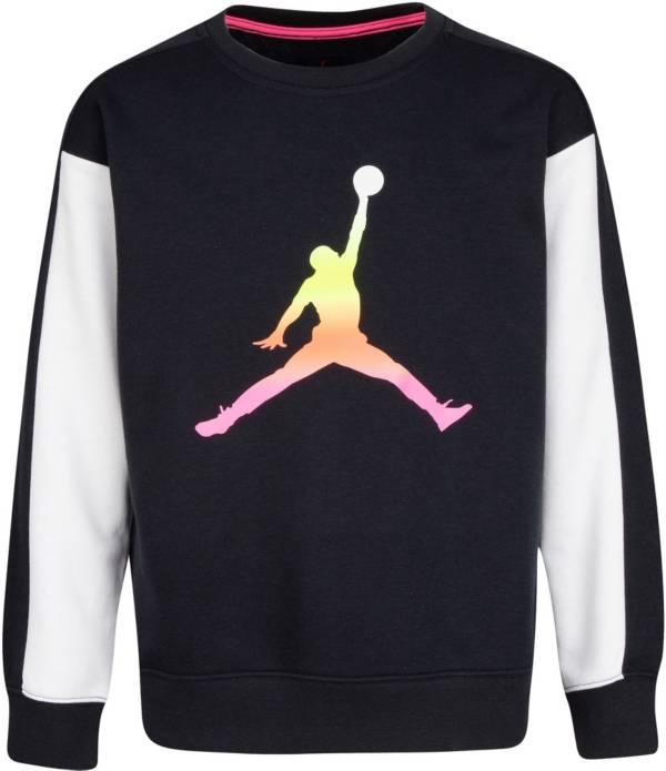 Jordan Girls' Jumpman Air Rise Crew Sweatshirt product image